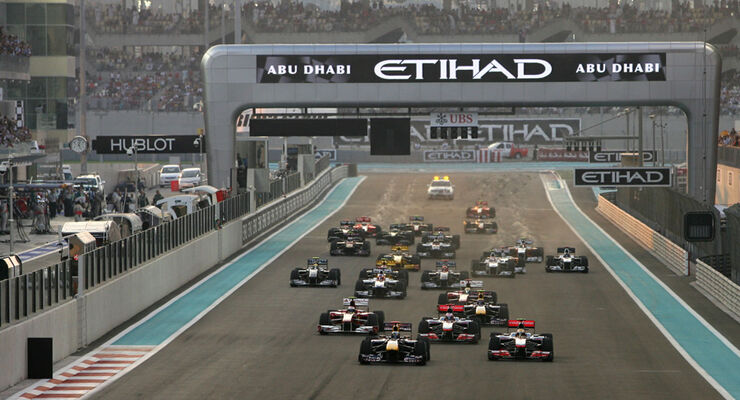 Start GP Abu Dhabi 2010