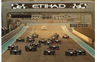 Start - GP Abu Dhabi 2013