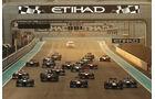 Start - GP Abu Dhabi 2013