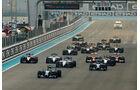 Start - GP Abu Dhabi 2014 - Formel 1 - Tops & Flops