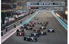 Start - GP Abu Dhabi 2015