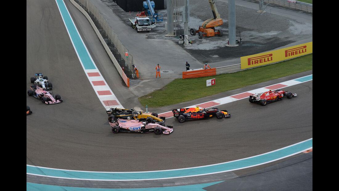 Start - GP Abu Dhabi 2017