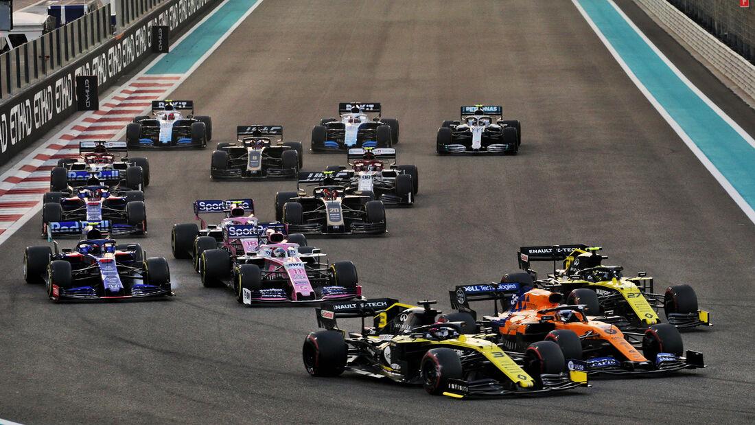 Start - GP Abu Dhabi 2019 - Rennen