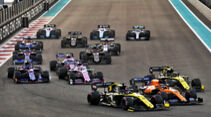 Start - GP Abu Dhabi 2019