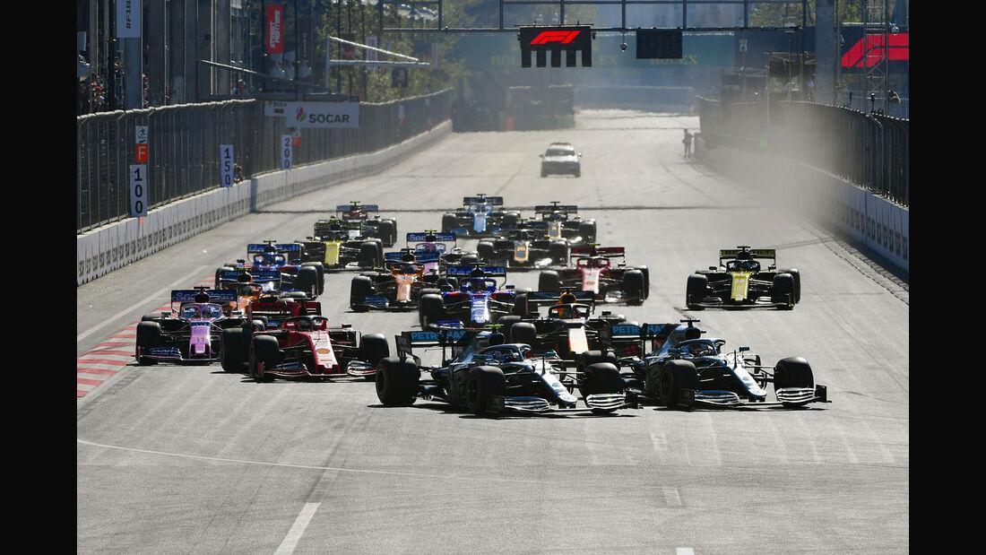 Start - GP Aserbaidschan 2019