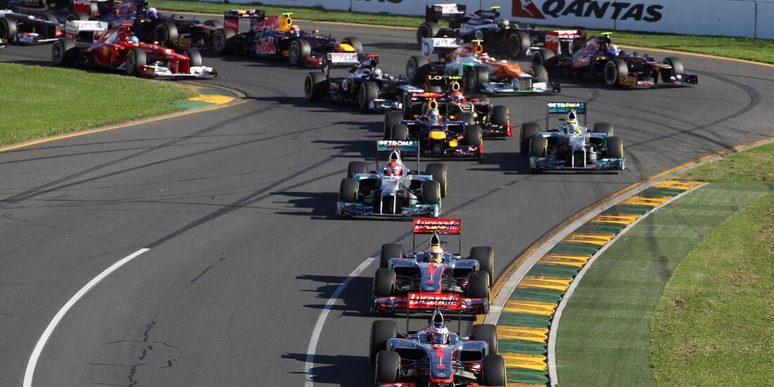 Start GP Australien 2012