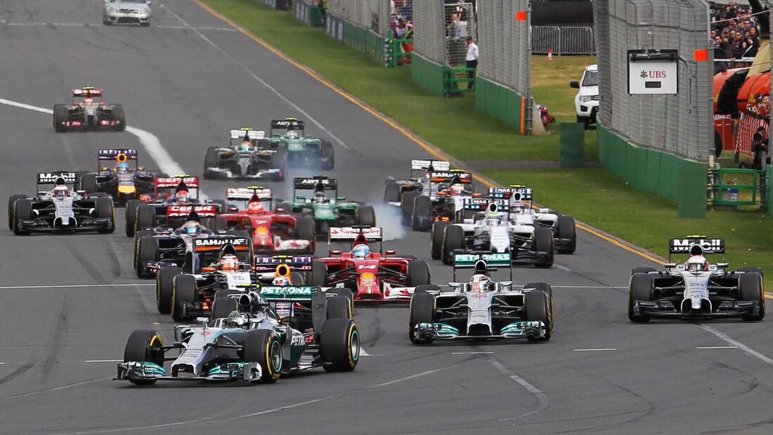 Start GP Australien 2014