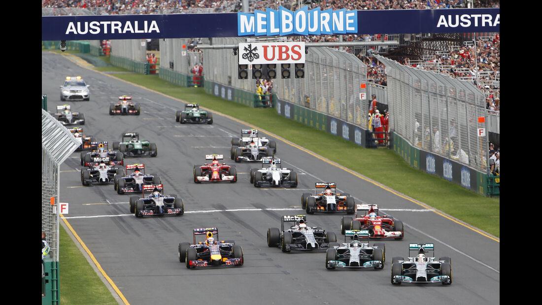 Start - GP Australien 2014