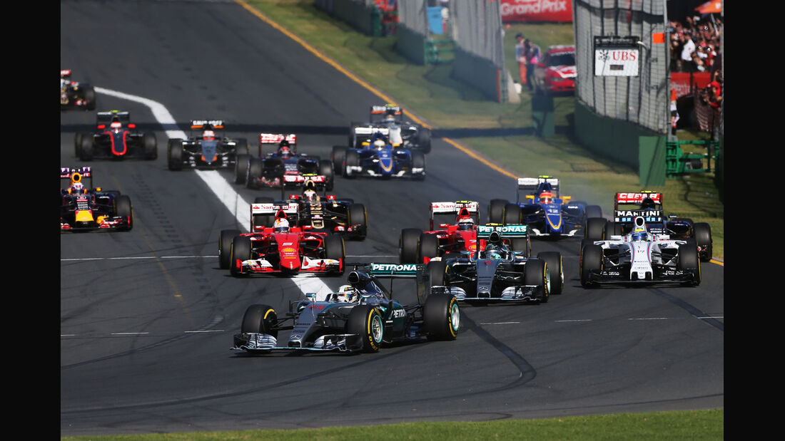 Start - GP Australien 2015