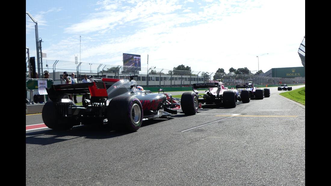 Start - GP Australien 2017