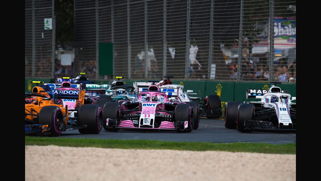 Start - GP Australien 2018 - Melbourne - Rennen