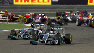 Start - GP Bahrain 2014