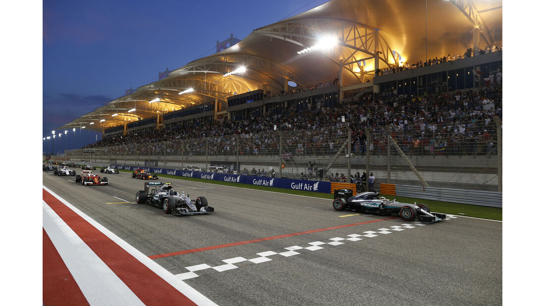 Start - GP Bahrain 2016