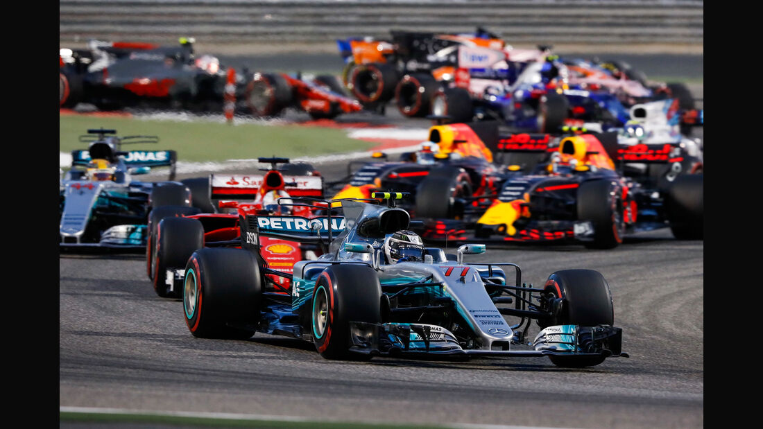 Start - GP Bahrain 2017 - Rennen