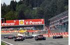 Start - GP Belgien 2012