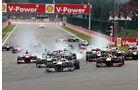 Start GP Belgien 2013