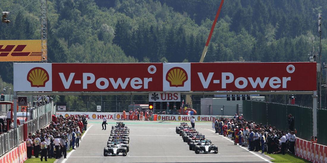 Start - GP Belgien 2015