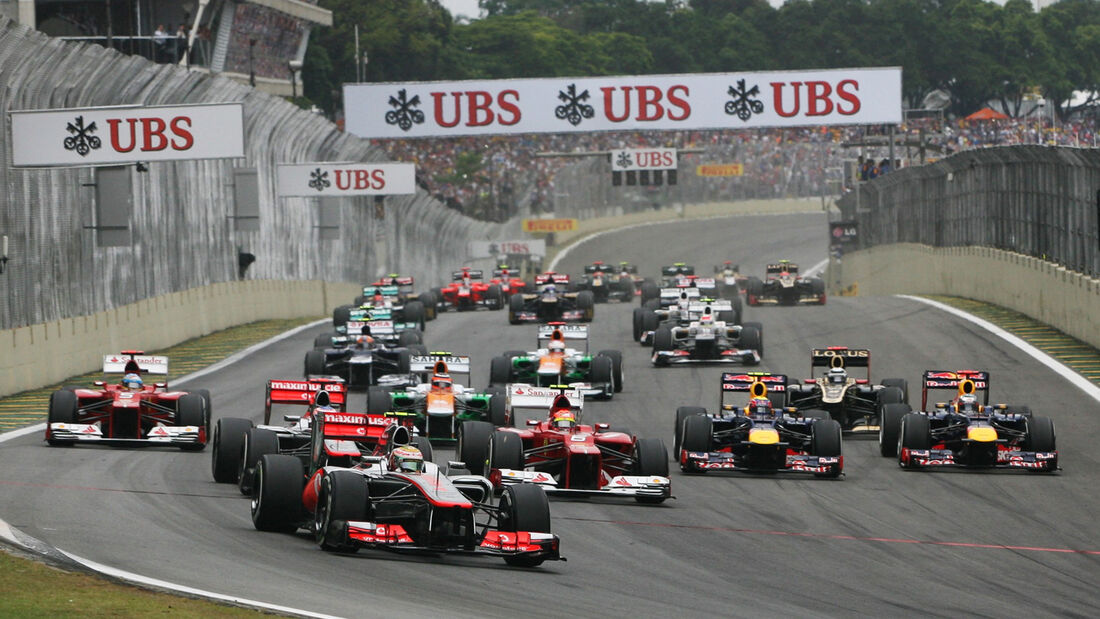 Start GP Brasilien 2012
