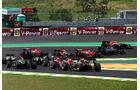 Start - GP Brasilien 2014