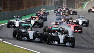 Start - GP Brasilien 2015