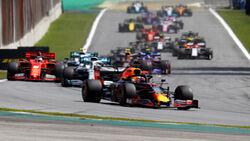 Start - GP Brasilien 2019