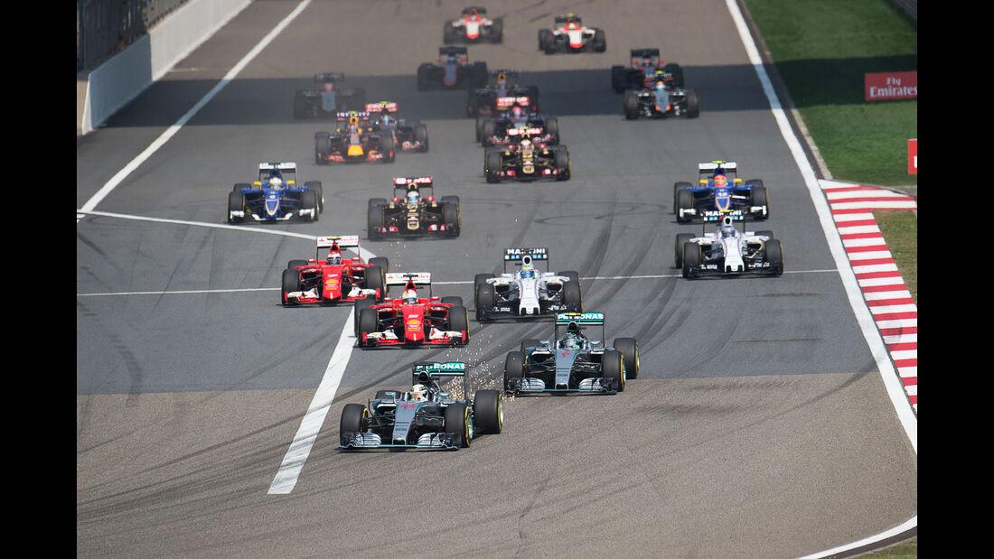 Start - GP China 2015