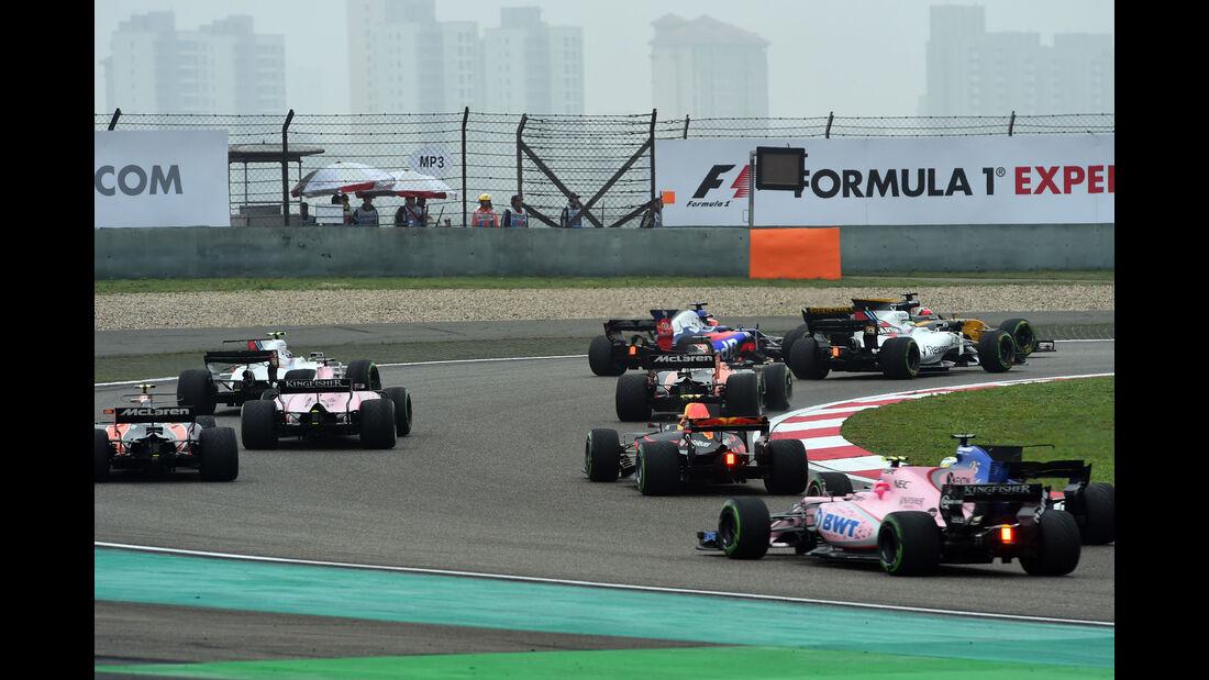 Start - GP China 2017 - Shanghai - Rennen