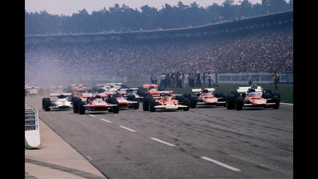 Start - GP Deutschland 1970