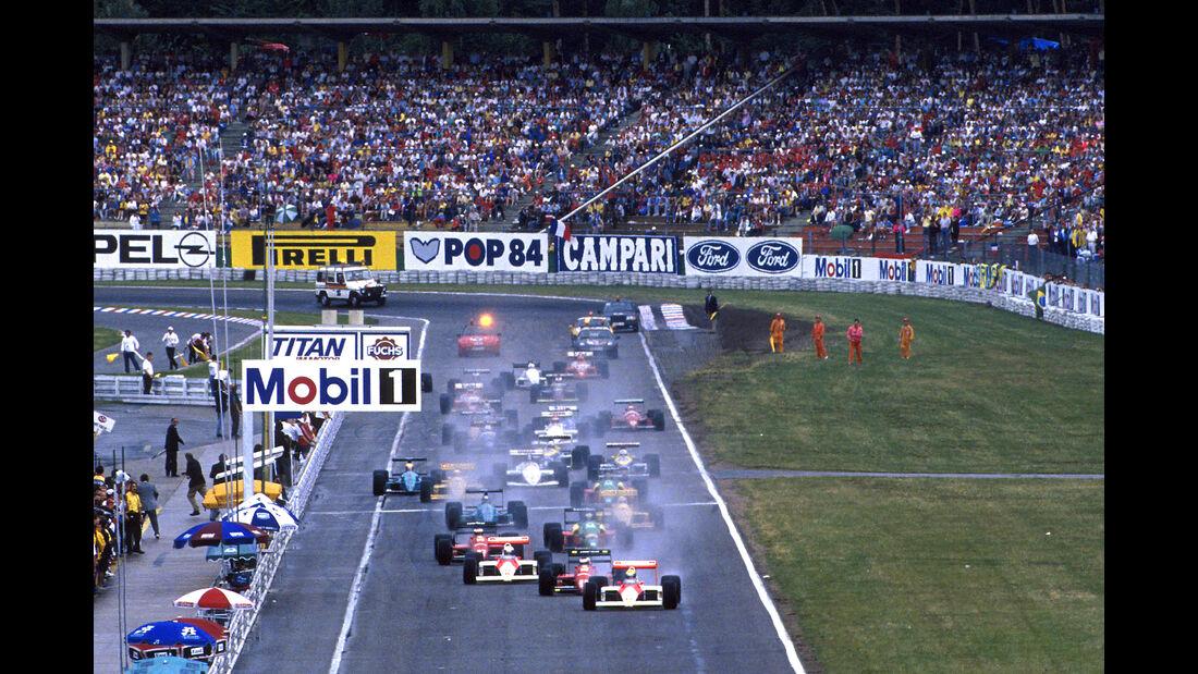 Start - GP Deutschland 1988