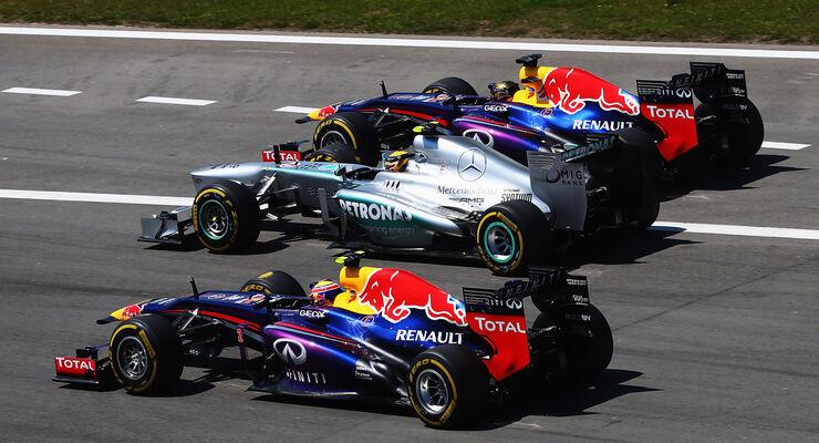 Start - GP Deutschland 2013