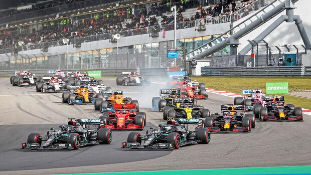 Start - GP Eifel 2020 - Nürburgring