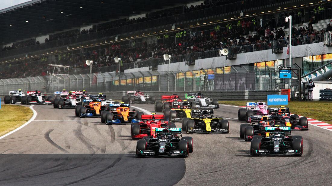 Start - GP Eifel - Nürburgring - Formel 1 - 2020