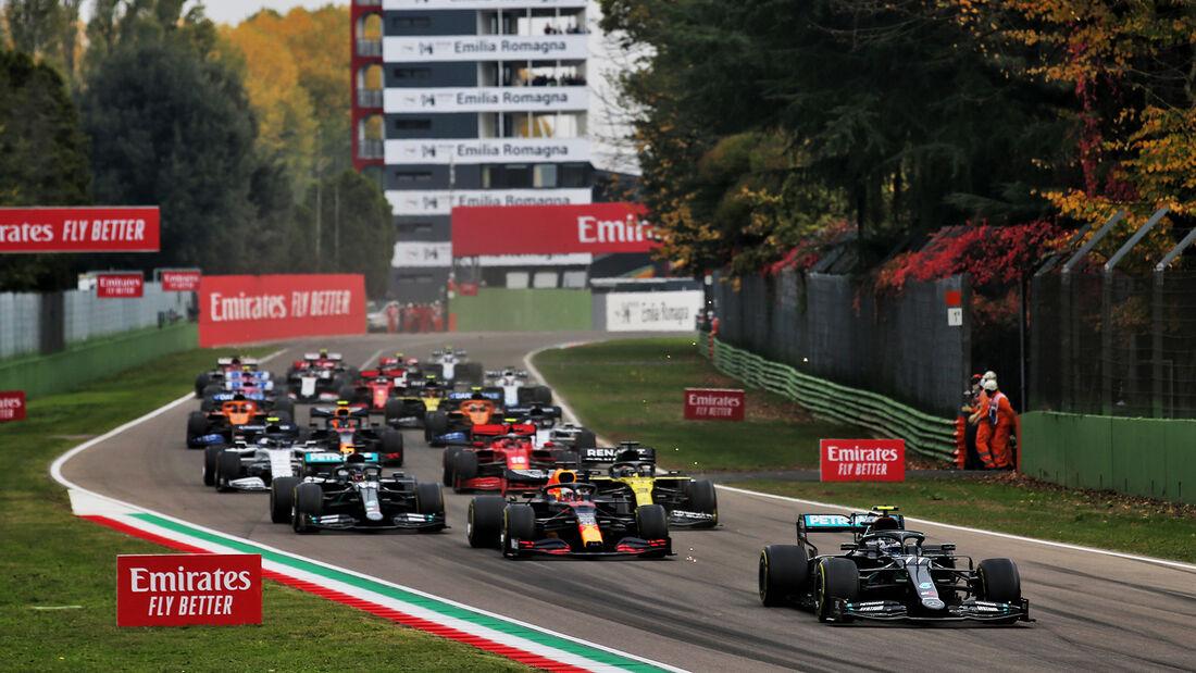 Start - GP Emilia-Romagna 2020 - Imola - Rennen
