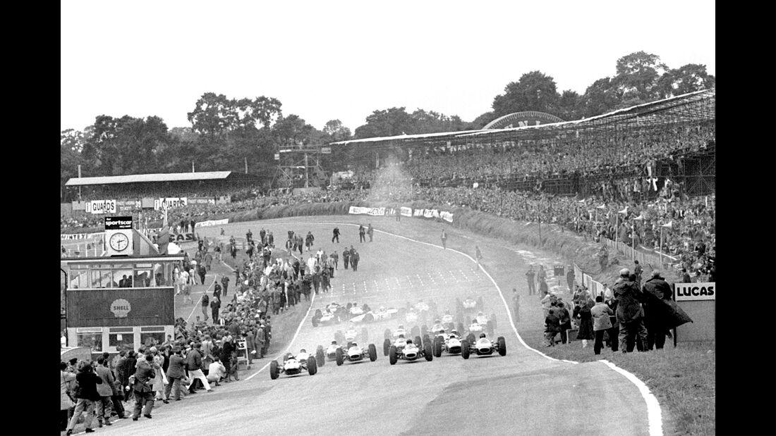 Start - GP England 1964 - Brands Hatch