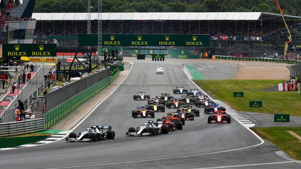 Start - GP England 2019 - Silverstone - Rennen