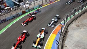 Start GP Europa 2012