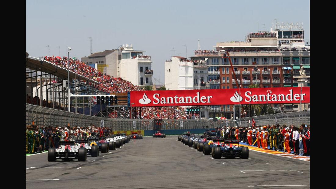 Start GP Europa Valencia 2011