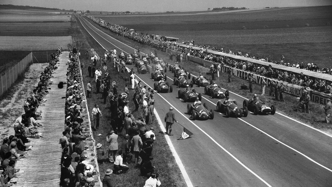 Start - GP Frankreich 1951 - Reims