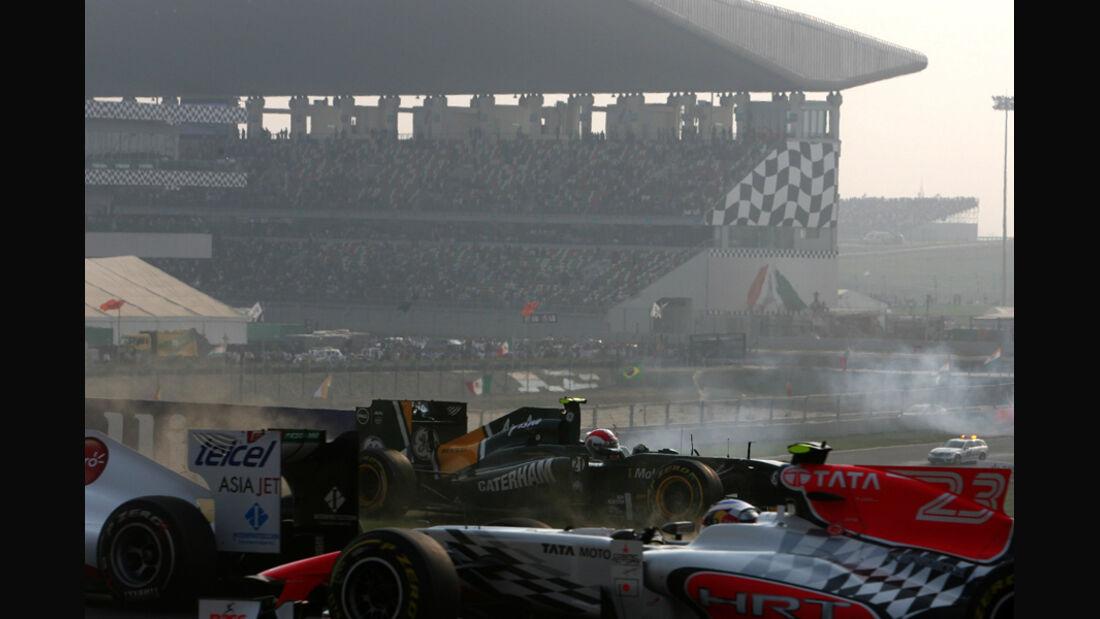Start GP Indien 2011