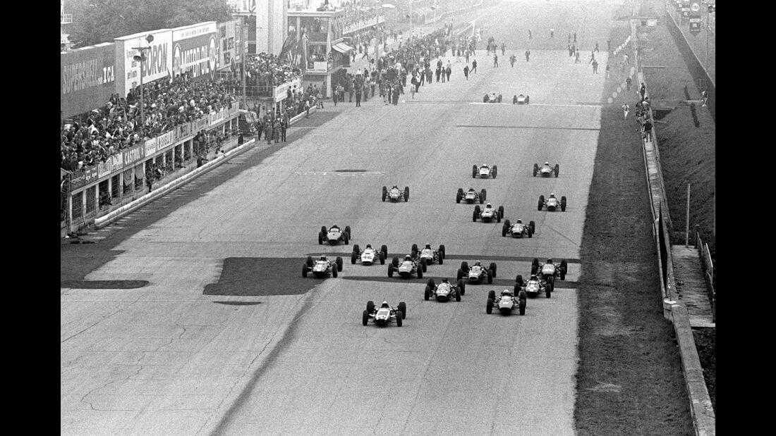Start - GP Italien 1964 - Monza