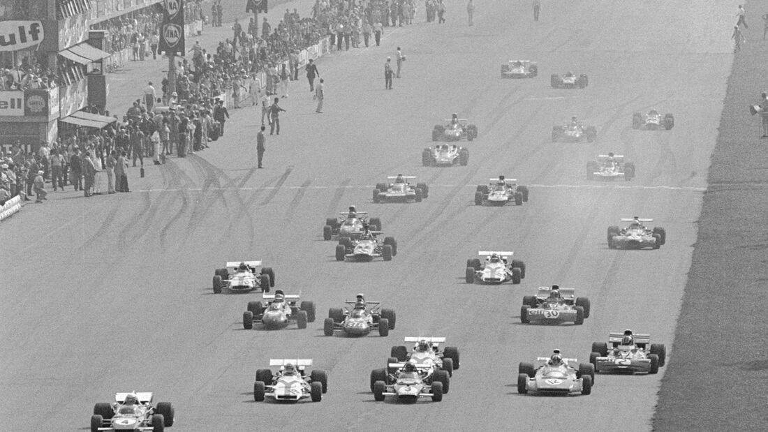 Start - GP Italien 1971 - Monza