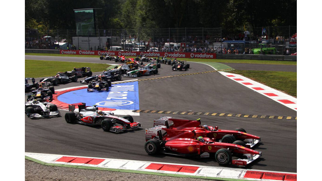 Start GP Italien 2010