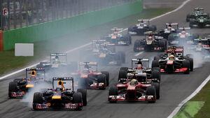 Start GP Italien 2013