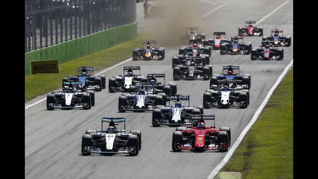 Start - GP Italien 2015