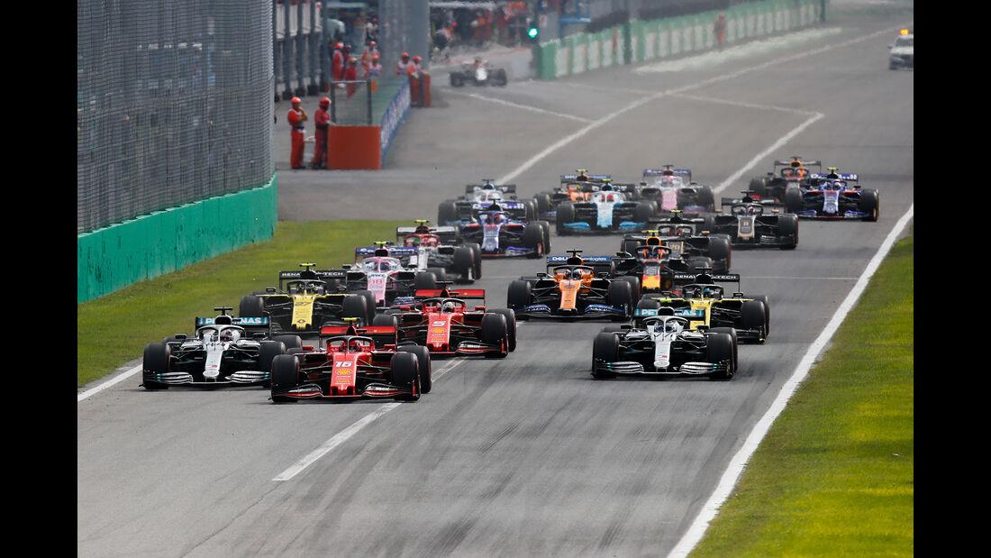 Start - GP Italien 2019