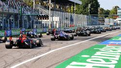 Start - GP Italien 2020