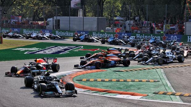 Start - GP Italien 2021