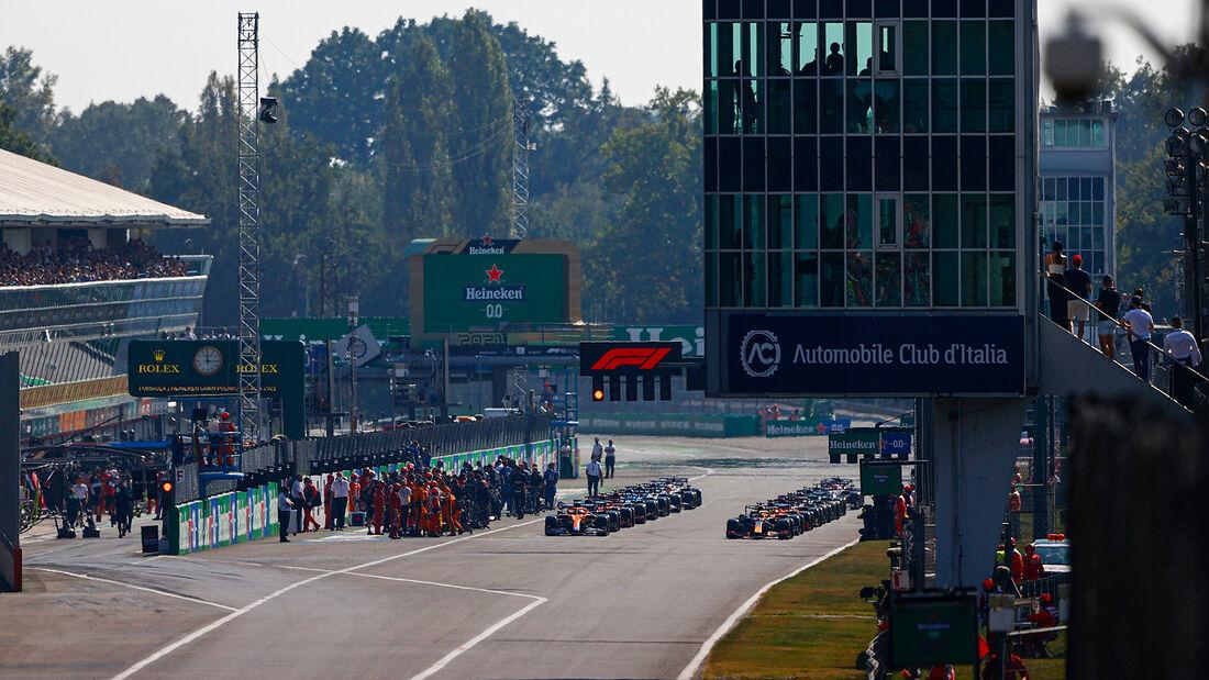 Start - GP Italien - Monza - 2021