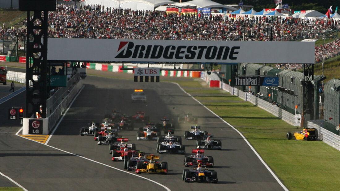 Start GP Japan 2010