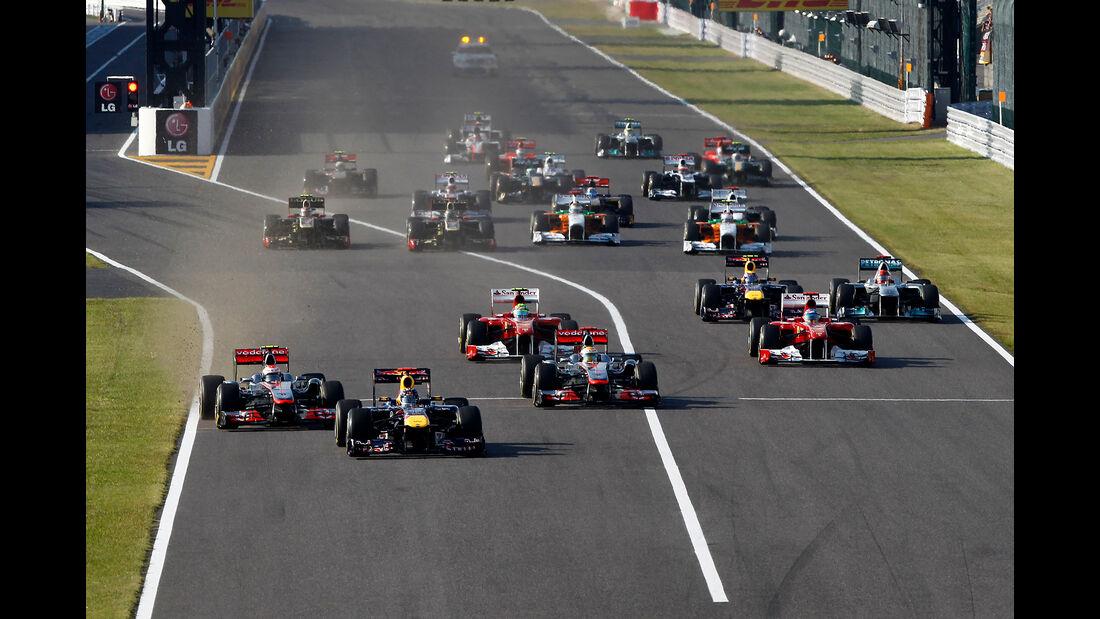 Start - GP Japan 2011